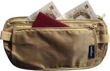 Money Belt (Beige) for Travel / Walking / Sport / Concealed