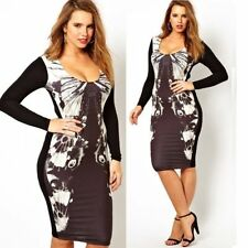 Unbranded Wiggle/Pencil Plus Size Dresses for Women