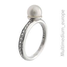 925 Sterling Silber Ring Thomas Sabo Perle Zirkonia silver pearl zirconia