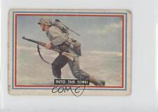 1953 Topps Fighting Marines #13 Into The Surf! Non-Sports Card 0s4