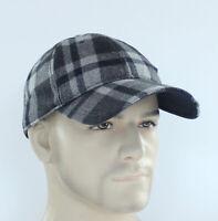 Original Penguin Wooly Check Baseball Cap Adjustable Ball Hat Men's OSFM Golf