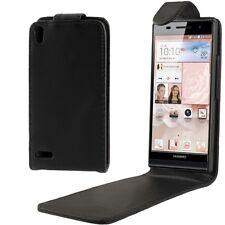CUSTODIA FINTA PELLE COVER CASE PER SMARTPHONE HUAWEI ASCEND P6 HWE-18