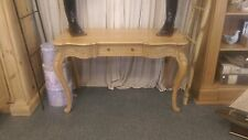 Beautiful French Oak Desk Hand Carved French ladies Executive Hand Carved Desk