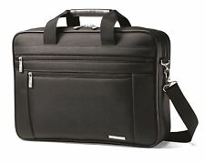 "Samsonite Classic Business Perfect Fit Two Gusset 15.6"" Laptop Portfolio Bag NEW"