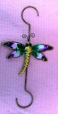 Dragonfly Ornament Plaque Wall Sculpture Art Decorative Sign Home Decor Hanging