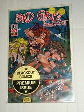 BAD GIRLS OF BLACKOUT #0 Premium Double Signed Issue! NM