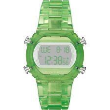 NEW-ADIDAS CANDY GREEN PLASTIC RESIN STRAP DIGITAL CHRONOGRAPH WATCH-ADH6508