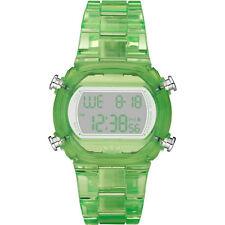 NEW-ADIDAS CANDY GREEN PLASTIC RESIN STRAP DIGITAL CHRONOGRAPH WATCH-ADH6508