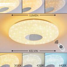Plafonnier LED Lampe à suspension ronde Lustre Lampe de bureau blanche 176552