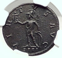 PROBUS Genuine 278AD Lugdunum Authentic Ancient Roman Coin VIRTUS NGC i72905