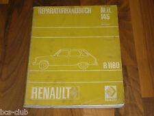 RENAULT 6 R6 (R1180) ab 1968 Motor Fahrwerk Elektrik General WERKSTATT HANDBUCH