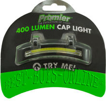 PROMIER 400 LUMEN COB LED CAP HAT LIGHT BATTERIES INCLUDED