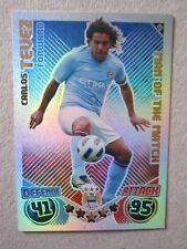 Match Attax 2010/11 - MOTM card - Carlos Tevez of Manchester City