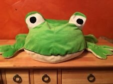 "Rare Little Brownie Bakers Jumbo Plush Frog Kids Room Decor 22"" Deep 34"" Wide"