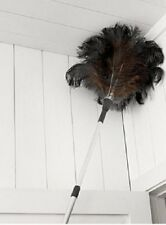 REAL OSTRICH FEATHER EXTENDABLE DUSTER EXTENDS TO 1.9 METRES CLEANING   80205