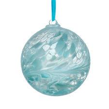 L'amicizia di vetro o STREGHE Ball, 15 cm Blu Pastello da Sienna VETRO