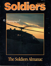 Soldiers: The Soldiers Almanac January 1997 Vol. 52, No. 1; U.S. Army Magazine