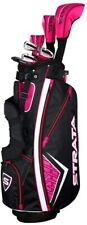 New listing NEW Callaway Strata 11-Piece Womens Complete Golf Club Set || Free Shipping
