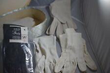 Padded Long Green Box full of Different Women's Gloves