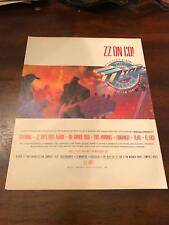 1988 Vintage 9.5X12 Album Promo Print Ad For Zz Top 6 Pack Set Great Art El Loco