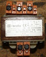 BROLLO Transformateur monophasé - prim 230V sec 24V/27V 160VA