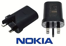 NOKIA UK Plug Power Adapter Travel Charger - CE / RoHS Approved Mains USB AD-5WX