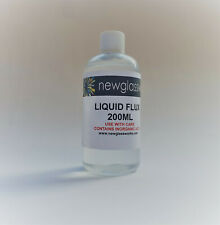 Stained Glass Tools and Supplies - Large bottle 200ml Liquid Flux