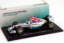 Spark 1:43 Mercedes F1 W05 - Lewis Hamilton - Winner Abu Dhabi GP 2014 - New
