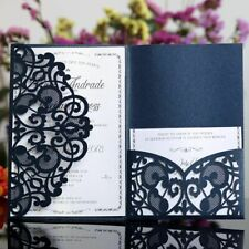 10PCS Invitations Laser Cut Wedding Invitations Cards Marriage Party Decoration