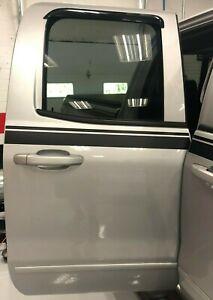 Passenger Side Rear Door - 2017 Chevrolet Silverado Double Cab (No Audio System)