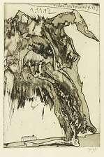 HORST JANSSEN - Knochen eines Vereinsmitglieds - Radierung / Aquatinta 1972