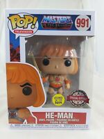 Television Funko Pop - He-Man Glow (GITD) - Masters of the Universe - No. 991