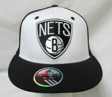 "Adidas Brooklyn Nets Mens Size L/XL ""Buzzer Beater"" Baseball Cap Hat E1 617"