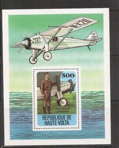 Burkina Faso SC # 467 History Of Aviation. Souvenir Sheet. MNH