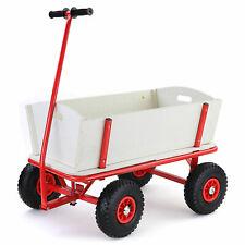 Bollerwagen Holz Handwagen Transportwagen Gartenwagen Transportkarre bis 150kg