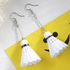 Badminton Dangle Drop Earrings Women Dangle Drop Earring Hobby Sport Party 1 pai