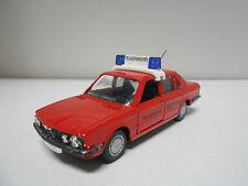 BMW 528 i E28 FEUEWEHR 112 FIRE CHIEF GAMA 1165 1/43