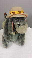 "Winnie The Pooh Eeyore Safari Camping Plush Stuffed Animal 15"" Toy"