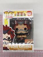 Funko Pop Eljiro Kirishima (Metallic) #606 BoxLunch Exclusive NOT MINT K04