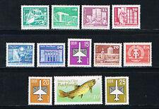 Postfrische Briefmarken der DDR (1981-1990) als Spezialsammlung