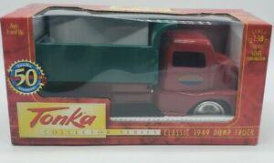 Tonka 1949 Dump Truck 1:18 Pressed Steel Construction 50th Anniversay LOT A