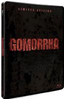 GOMORRA Stagione 01 - Edizione Steelbook (4 BLU-RAY + CARTOLINE) Lingua Italiana
