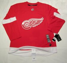 DETROIT RED WINGS size 56 = sz XXL  ADIDAS NHL HOCKEY JERSEY Climalite Authentic