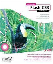 Foundation Flash CS3 for Designers, Tom Green, David Stiller, New Book