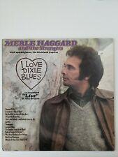 MERLE HAGGARD - 4 LPs - I Love Dixie Blues, Ramblin' Fever,  Rainbow stew plus 1