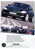 black 2006 Maybach 57 Classic Vintage Advertisement Ad D10