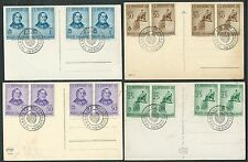 Kingdom series Rossini 4 postcards with cancellation Perseus Destroyer