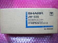 SHARP  JW-33S  NEW  NEW IN BOX   Fast  shipping