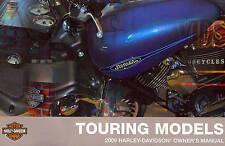 2009 HARLEY-DAVIDSON TOURING OWNERS MANUAL KIT -NEW SEALED-FLTR-FLHR-FLHT-FLHTCU