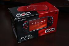 PlayStation Portable PSP-3000 Red/Black Valued Console boxed Japan Import system
